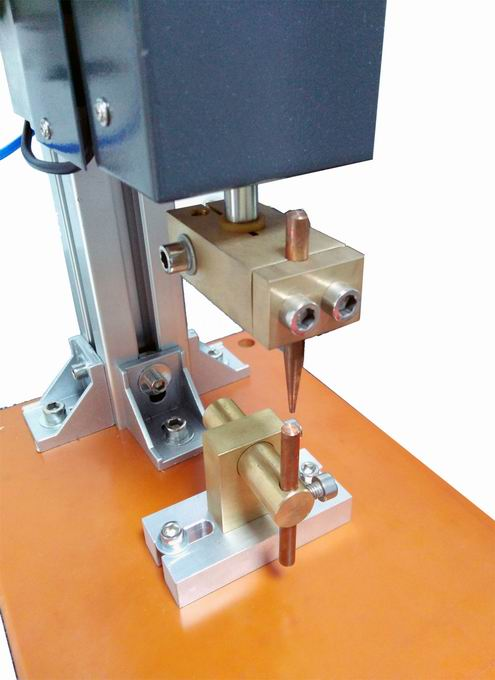 Micro spot welding head for metal sheet and wires WH100